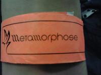METAMORPHOSE のリストバンド