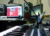 問題改善前の自宅スタジオ