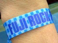 FUJI ROCK '09 リストバンド