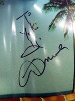 Al Di Meolaから貰ったサイン