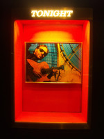 Blue Note Tokyoの看板 - Al Di Meola