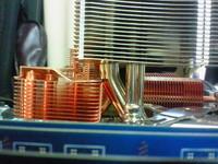 GA-P35-DS4 とサイレントパイプの接触
